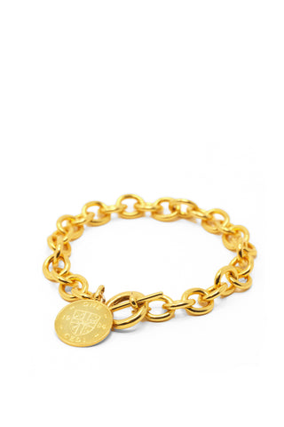 THE TOGGLE IV Bracelet with Coin Charm