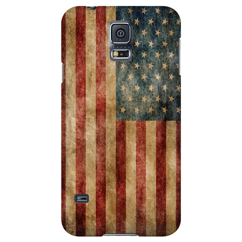 Faded US Flag Phone Case