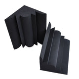 New 4 pcs Bundle Bass Trap Acoustic Panels Sound Absorption Studio Soundproof Foam 2 Colors KK1036