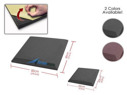 Arrowzoom Flat Bevel Adhesive Backed Tile Series Solid Colors KK1055