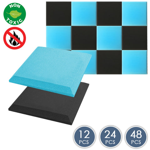 Arrowzoom Flat Bevel Tile Series Baby Blue x Black Bundle KK1039