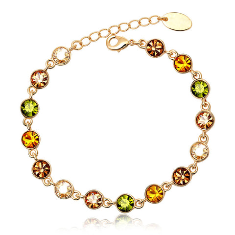 Honey Sweet Friendship Crystal Bracelet