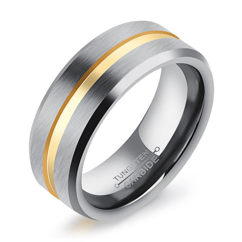 Classical Tungsten Band Ring (Men)