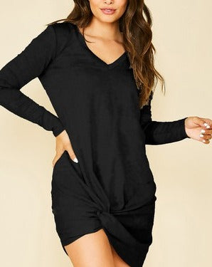 Right Temp Dress - Black