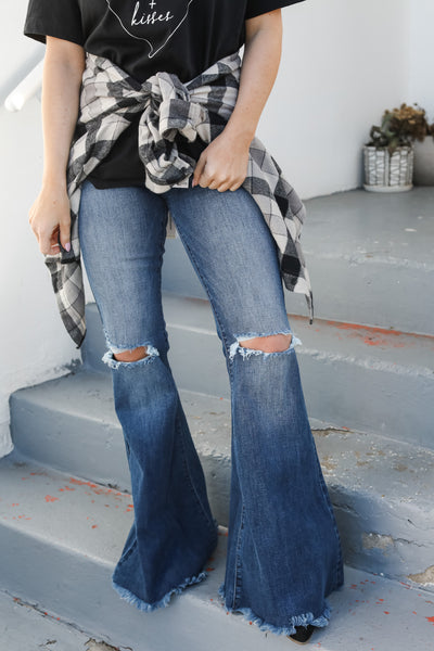 Dare To Tell Flared Jeans