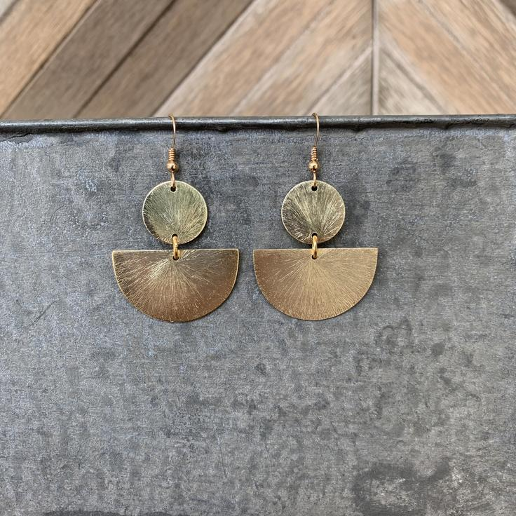 Mila Earrings - Gold