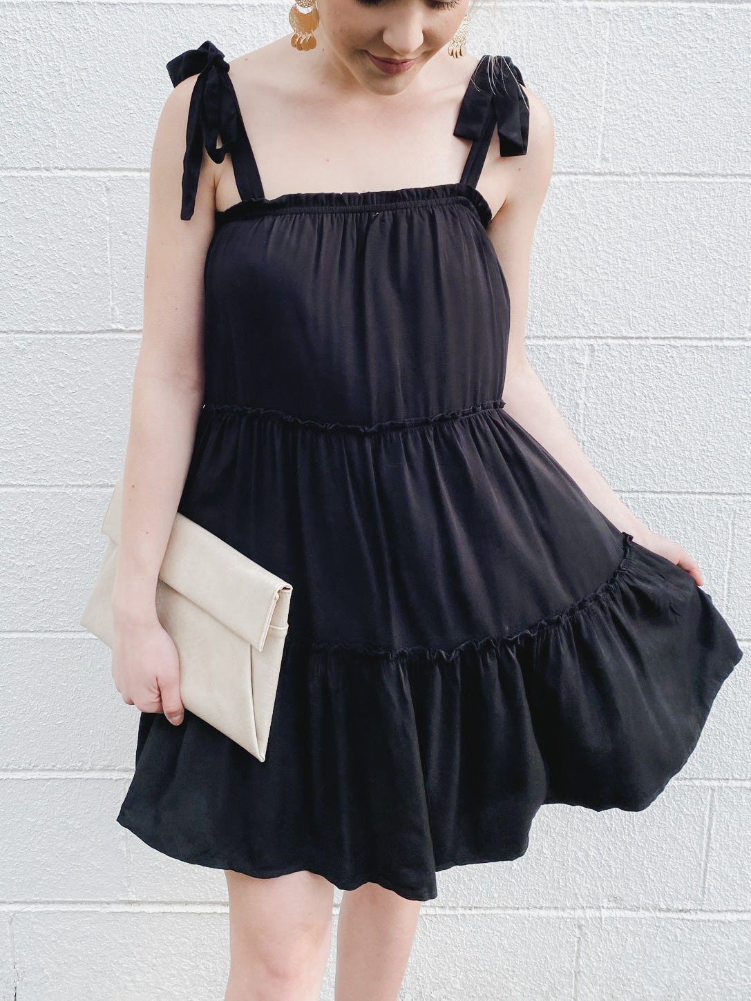Blushing For You Dress - Black