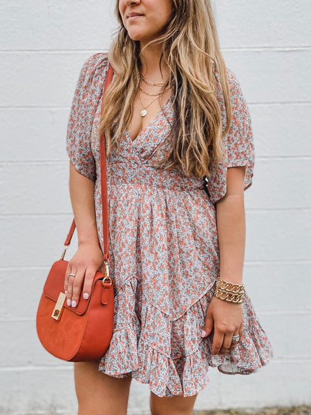 Anywhere Anytime Dress - Floral