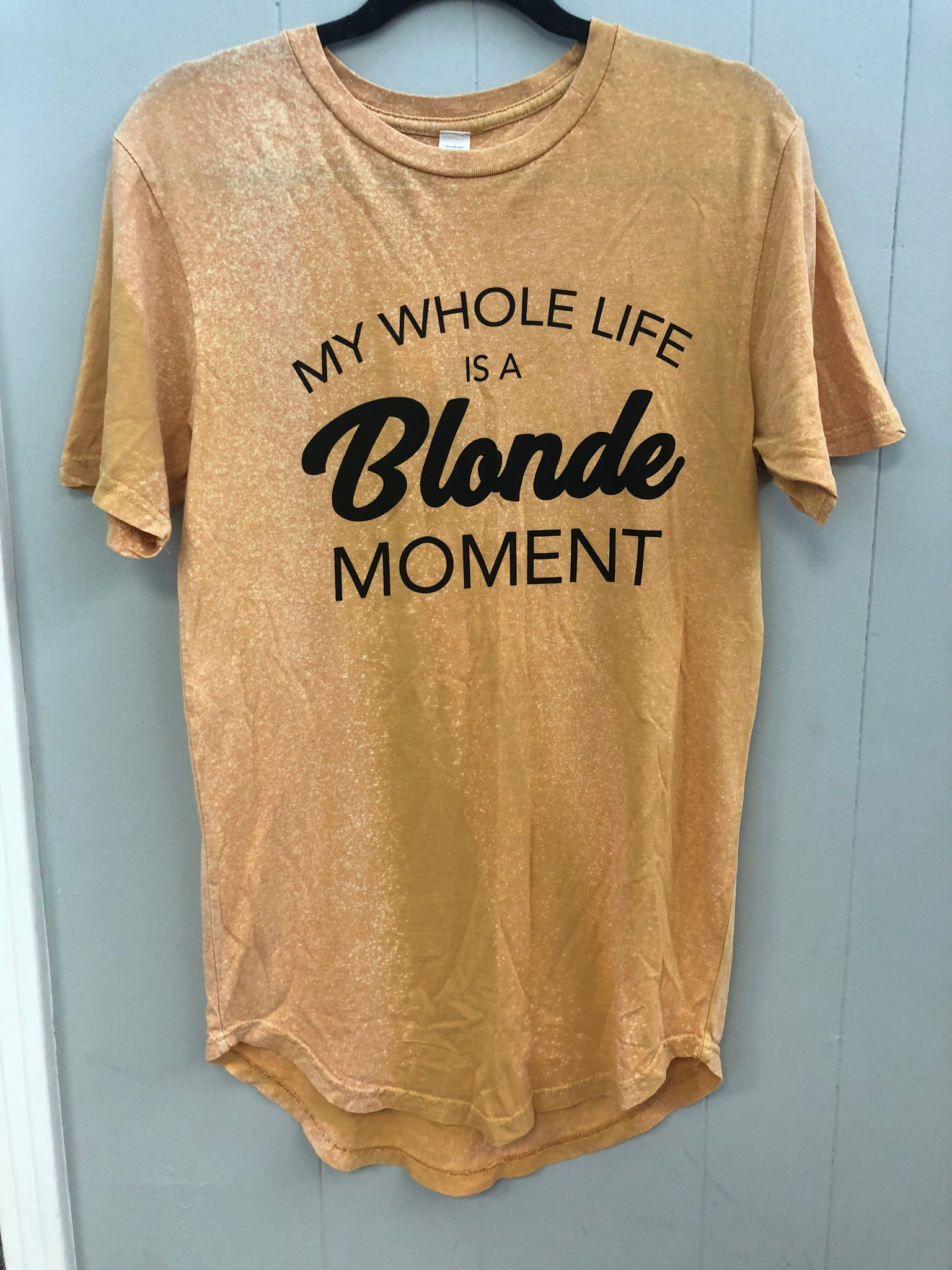 Blonde Moment Tee - Bates Boutique