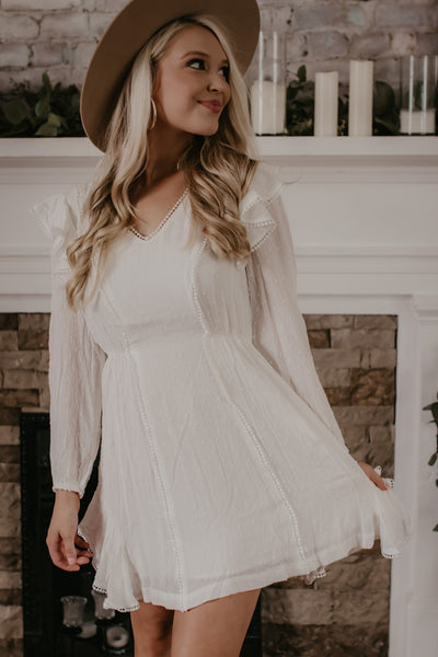 Wild Fire Feels Dress - Ivory