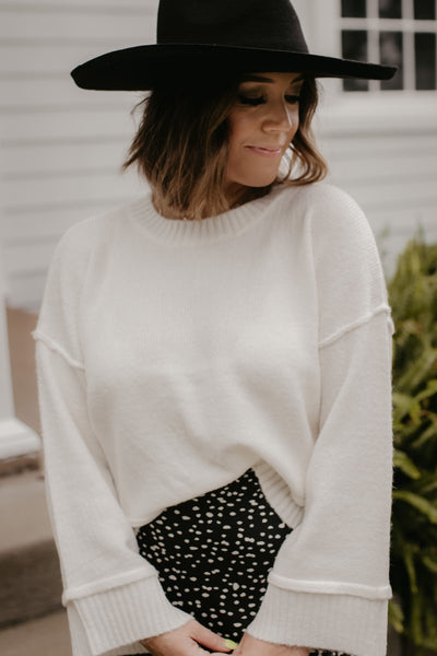 Dollop Of Daisy Sweater - Cream
