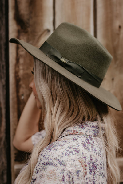 Break Of Dawn Hat - Olive