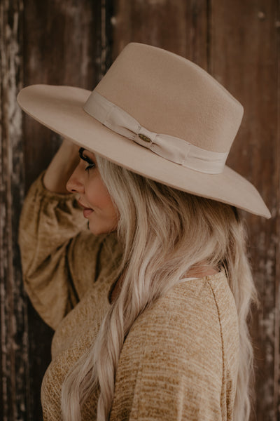 Break Of Dawn Hat - Beige