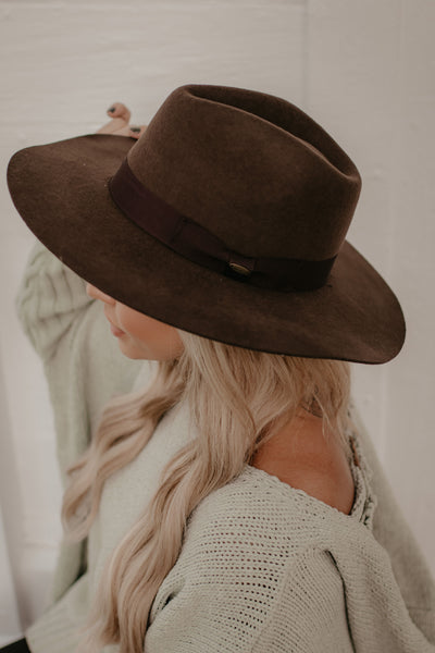 Break Of Dawn Hat - Brown