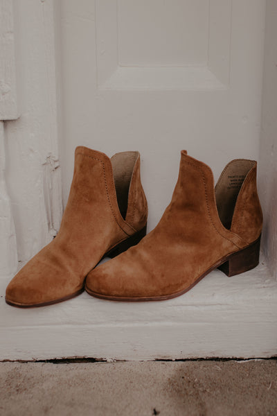 Pronto Booties - Saddle