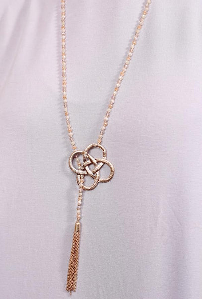 Leisa Y-Necklace