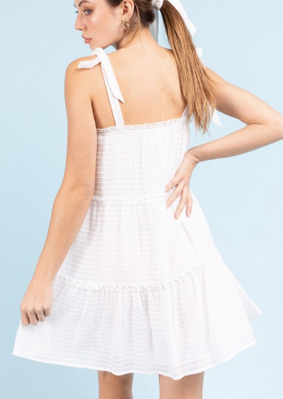 Self Made Dress - White