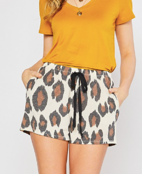 Silly Me Shorts - Ivory
