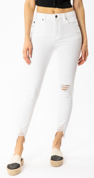 Casting Crew Jeans - White