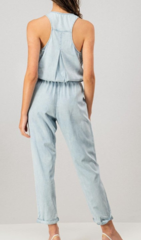 Washed Away Jumpsuit