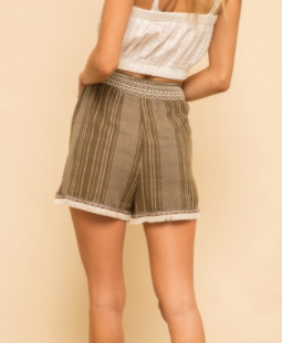 Valley Girls Shorts - Olive