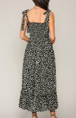 Side Swipe Maxi Dress