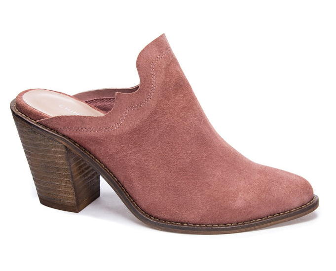 Songstress Heeled Mules