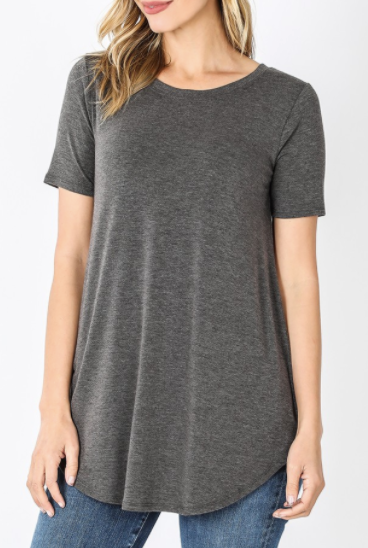Casual Cause Tee - Charcoal
