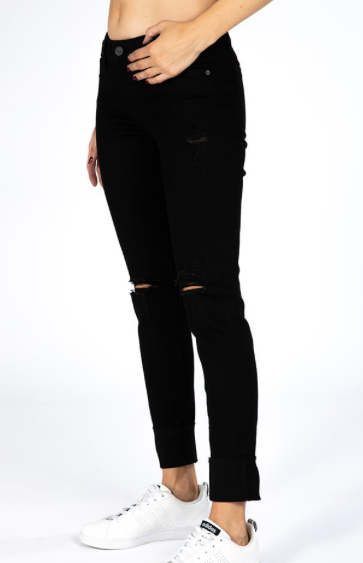 Conversation Piece Black Jeans