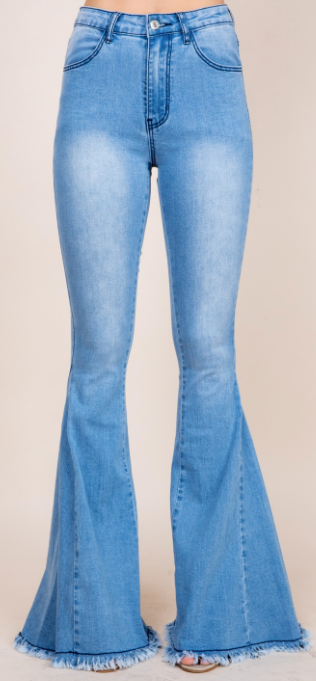 Sleek Style Flare Jeans