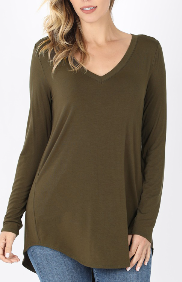 Mood Swing Top - Olive