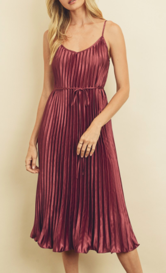 Chick Flick Dress - Mulberry