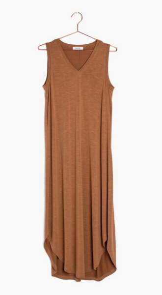 The Brynlee Dress - Almond