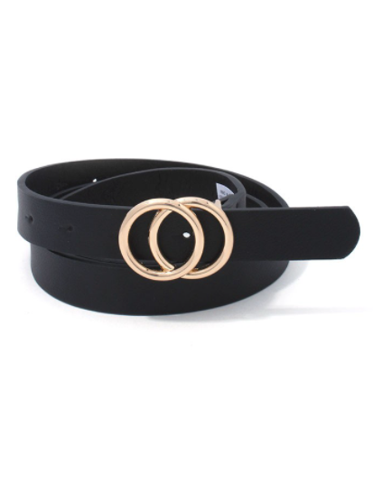 Ring Ring Belt - Black