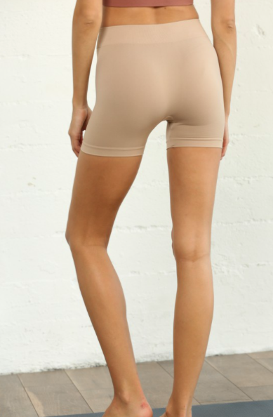 Seamless Shorts - Taupe