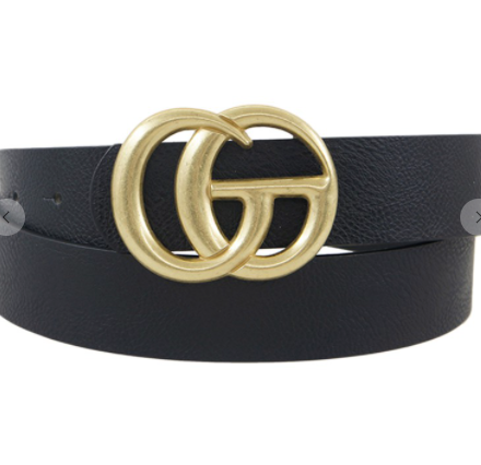 Go Buckle Belt - Black