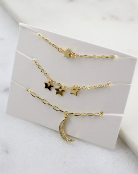 Stell Star Necklace Set