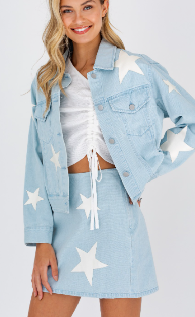 Star Struck Denim Jacket