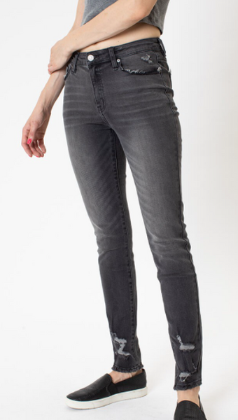 Cloudy Grey Skinny Jeans