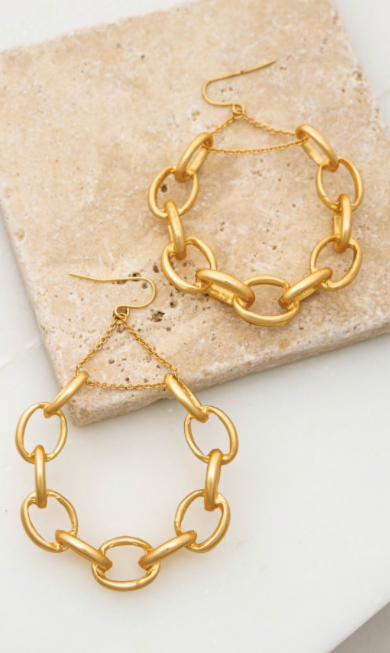 Casting Earrings - Gold