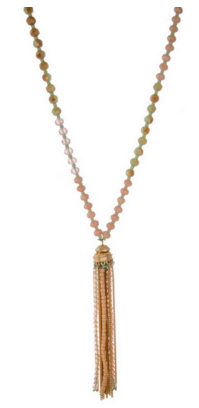 Beaded Necklace - Bates Boutique