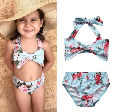 Floral Swim Suit - Bates Boutique