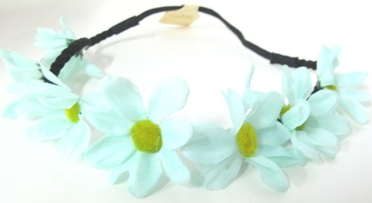 Mint Flower Headband