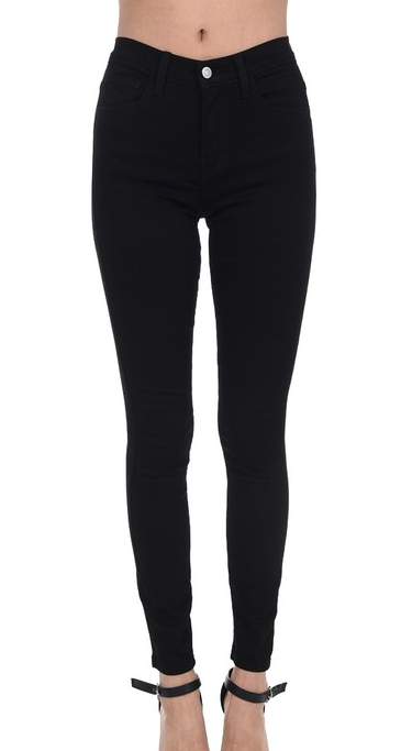 Becca Black Mid Rise Skinnies - Bates Boutique