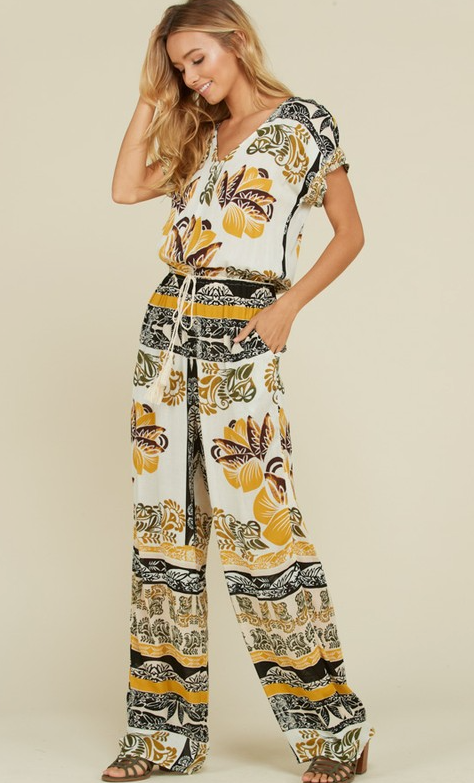 Be Wild And Free Jumpsuit - Bates Boutique