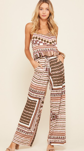 Changing Seasons Jumpsuit - Bates Boutique
