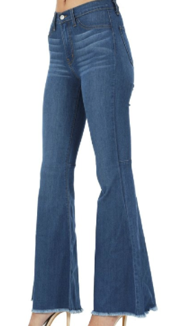 Fabianna Flared Jeans - Bates Boutique