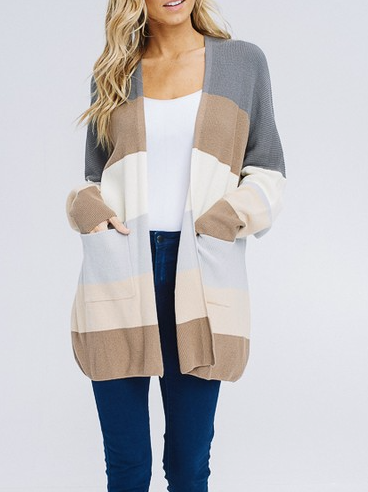 Cocoa By The Campfire Cardigan - Bates Boutique