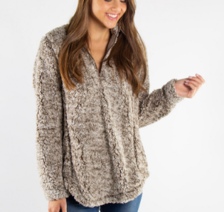 Chic N Soft Sherpa - Brown - Bates Boutique