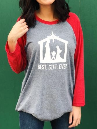 Best Gift Ever Tee - Bates Boutique